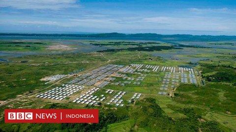 Krisis Rohingya: Perkampungan warga dihancurkan untuk pembangunan fasilitas pemerintahan Myanmar