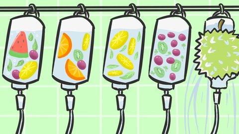 5 Manfaat Infused Water Lemon dan Mentimun