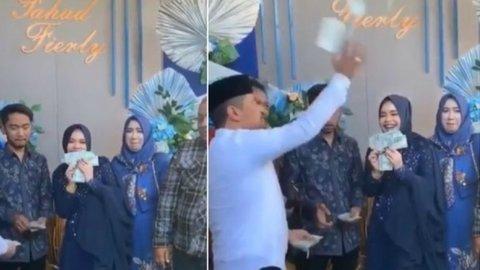 Viral Video Crazy Rich Surabayan Tunangan, Dollar Disawer!
