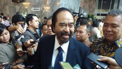 Berawal dari Pelantikan Jokowi, Surya Paloh Bakal Sambangi Kantor DPP PKS