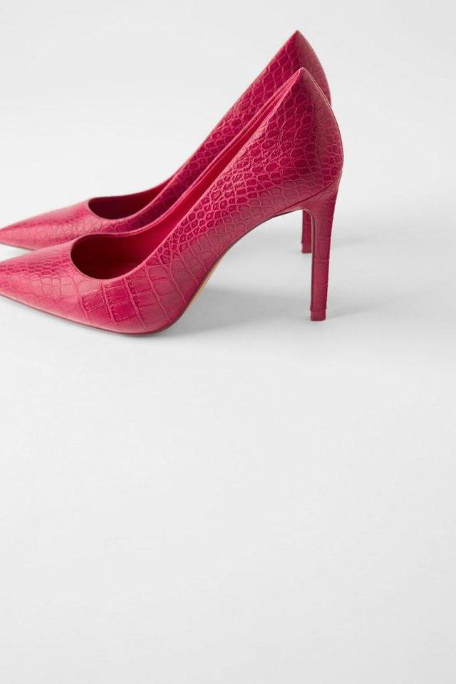 High heels. (Zara.com/id)