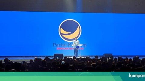 Pidato di Kongres, Anies Kenang Sebagai Deklarator Ormas NasDem