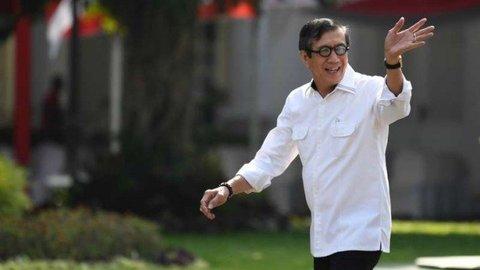 Bolak-balik Yasonna Laoly Jadi Menteri Jokowi