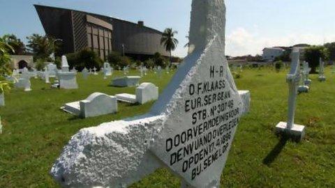 Kuburan Belanda Aceh Didaftarkan Jadi Warisan Budaya Dunia