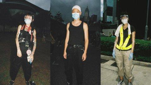 Potret Busana Anak-Anak Muda Hong Kong yang Tak Lelah Berdemonstrasi Melawan Beijing