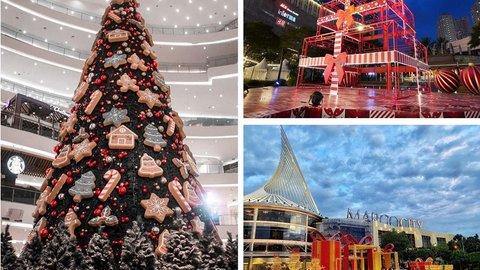 intip cantiknya dekorasi natal di 7 mal favorit