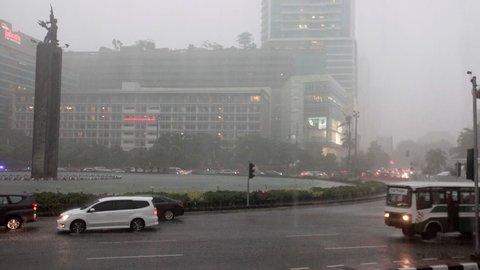 Jakarta Diprediksi Diguyur Hujan Siang Hari
