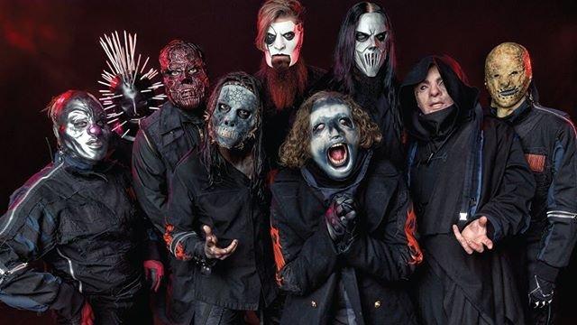 Begini kostum dan topeng para personel band metal asal Negeri Paman Sam yang bakal manggkung di Jakarta, (Instagram/@slipknot).