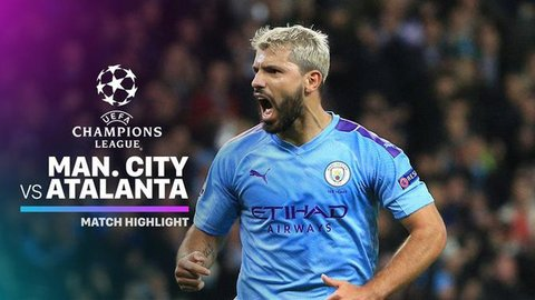 VIDEO: Highlights Liga Champions, Manchester City Vs Atalanta 5-1