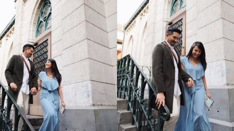 Rayakan Anniversary Pernikahan Sharena Gunawan Berikan Ucapan Pada Suaminya Ryan Delon Netizen Pasangan Favorit Aku Kurio