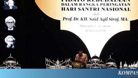 Ketum PBNU: Mulai dari Pilkada DKI, Sentimen Agama dan Politik Menguat