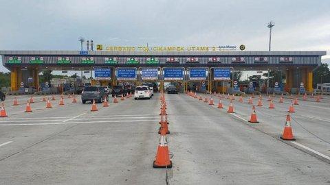 Jasa Marga: H-3 Lebaran Sudah 367.703 Kendaraan Tinggalkan Jakarta