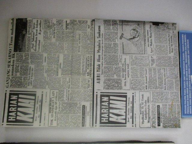 Harian Kami yang pernah dikelola Nono di era 60-an. (kominfo.go.id)