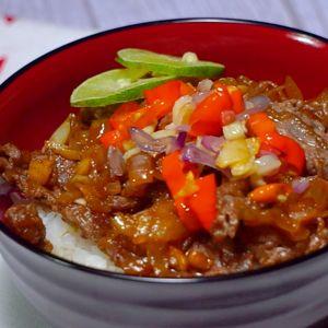 Nasi Mangkuk Daging Sapi