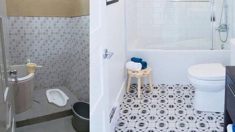 Desain Kamar Mandi Sederhana Sekali Cocok Untuk Rumah Minimalis