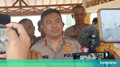 Kapolsek Menes Tertusuk Gunting karena Cegah Fitria Serang Wiranto