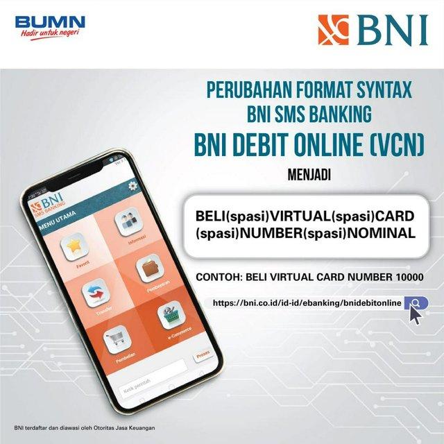 Apa sih yang dimaksud dengan SMS Banking BNI? Baca aja ulasannya di sini ya, (Twitter/@BNI).