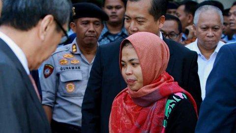 Jokowi: Selamat Berkumpul untuk Siti Aisyah dengan Keluarga