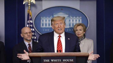 Trump : Tingkat Kematian Akibat Corona Tinggi 2 Pekan ke depan, Ibarat Perang Dunia