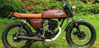 Modifikasi Motor Jap Style Honda Gl Max 2000 Yang Tampak Kece