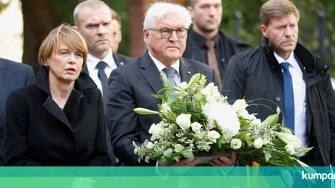Presiden Jerman soal Penembakan di Sinagoge: Kami Lindungi Yahudi
