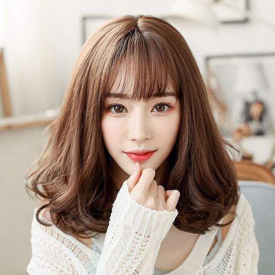 8 Model Rambut Ala Korea Yang Bagus Untuk Perempuan Wajah Kotak Kurio