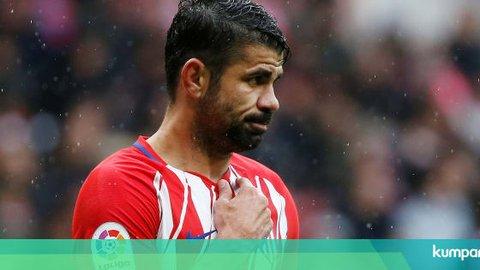 Diego Costa Berpotensi Absen Tiga Bulan karena Cedera Leher