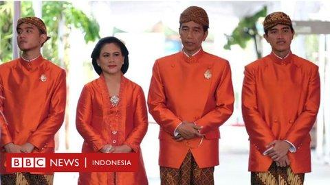 Dinasti politik: Putra dan menantu Jokowi berniat ikut Pilkada, 'godaan kekuasaan sulit ditepis'