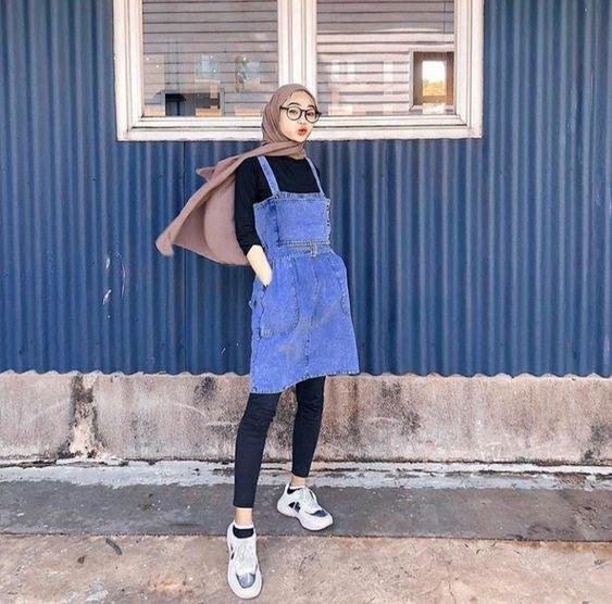 9 Ootd Hijab Buat Pemilik Tubuh Kurus Anti Alay Dan Dijamin Modis Kurio