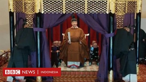 Naruhito resmi naik takhta menjadi kaisar Jepang ke-126 dalam upacara kuno, ditandai pengampunan untuk setengah juta kriminal
