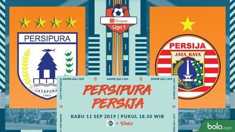Eksklusif Live Streaming Shopee Liga 1 2019 di Indosiar: Persipura Jayapura Vs Persija Jakarta