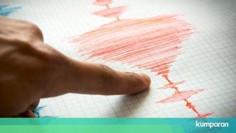 Gempa 5,0 M Getarkan Labuha, Maluku Utara