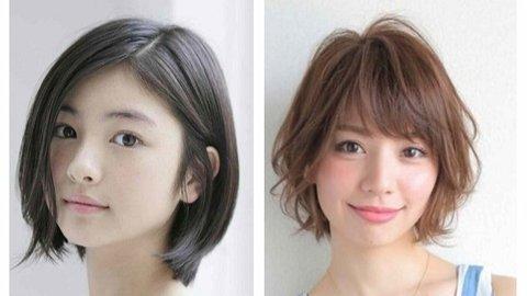 7 Inspirasi Model Rambut Pendek Korea Untuk Wajah Bulat Kurio