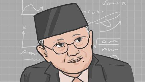 B.J. Habibie, Bapak Demokrasi Indonesia
