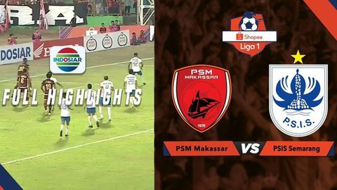 VIDEO: Highlights Liga 1 2019, PSM Vs PSIS 0-1