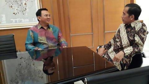 Bayang-bayang Jokowi dalam setahun kepemimpinan Ahok di DKI Jakarta