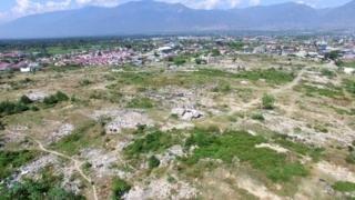 Image caption                                         Setahun setelah bencana likuefaksi di Petobo.