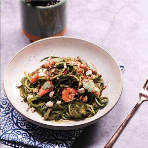 Prawn & Zucchini Noodles