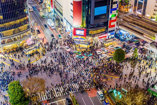 Shibuya Crossing Foto: Shutter Stock