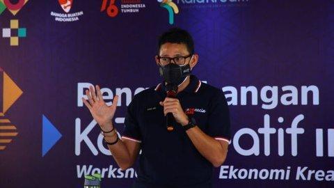 Sandiaga Uno Dorong Para Animator Surabaya ke Kancah Internasional