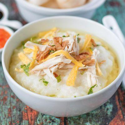 Resep Bubur Ayam Kuah Soto Endeus Tv
