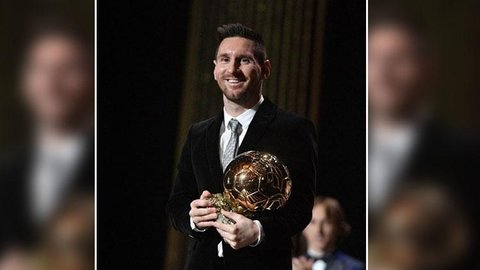 Messi Raih Ballon d'Or 2019, Berikut Daftar 10 Pemain Terbaik Tahun Ini