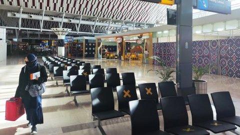 Melonjak, Penumpang di Bandara AP I Tembus 1 Juta pada Agustus