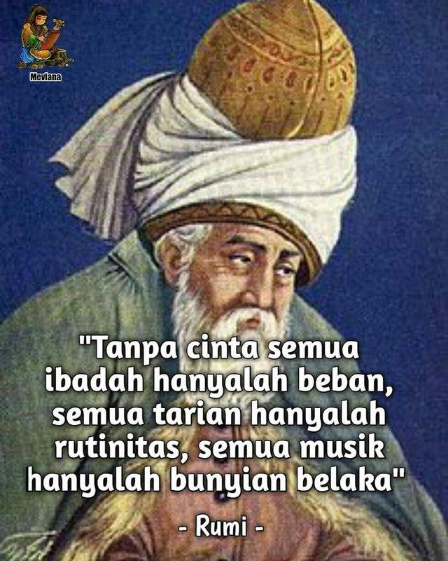 40 Kata Kata Quote Jalaluddin Rumi Indah Dan Penuh Makna Kurio