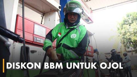 Pertamina Beri Diskon 50 Persen untuk Ojol yang Isi BBM | KURIO