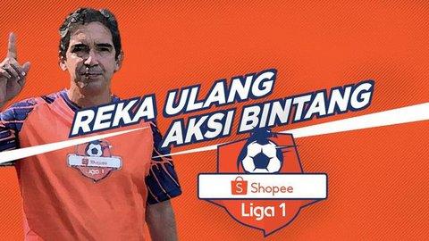 VIDEO: Reka Ulang Aksi Bintang Shopee Liga 1, Gol Andik Vermansah