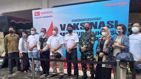 Wagub DIY KGPAA Paku Alam X:Dukung Vaksinasi Sedulur Daihatsu Yogyakarta-Kedaulatan Rakyat