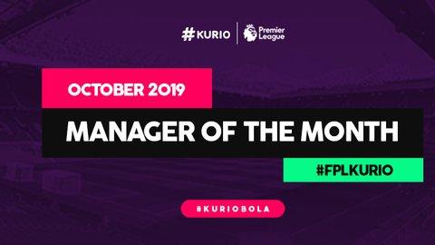 Manager of The Month #FPLKurio Oktober