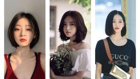 10 Model Rambut Pendek Ala Perempuan Korea Sesuai Bentuk Wajah Kurio