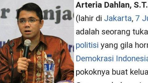 Politikus Arteria Dahlan Jadi Korban Kesekian Ganasnya Perundungan Meme di Indonesia
